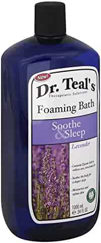 Dr. Teal's Foaming Bath, Soothe & Sleep with Lavender 34 fl oz by Dr. Teal's