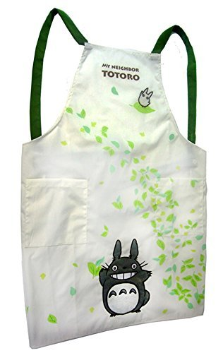 Dance Studio Ghibli My Neighbor Totoro apron Totoro leaves by Sun Arrow