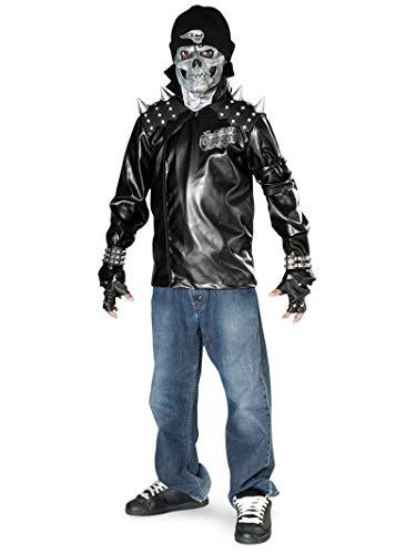 Rubie's Metal Skull Biker Teen Costume -