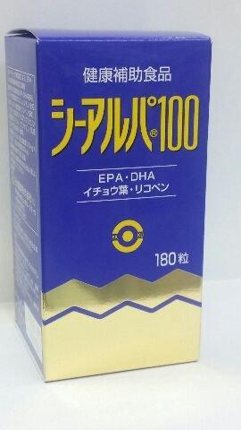 「シーアルパ100」180粒6個パックで15%割りひき(健康増進食品) B014BZLGDY