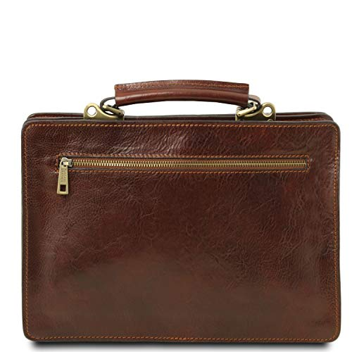 Tuscany Piel Tania Grande Marrón Leather En Miel Asas Oscuro Señora Modelo De Bolso Con rqr4Yg