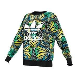 first rate best deals on cheap prices adidas Originals Butterfly Sweatshirt Damen Grün: Amazon.de ...
