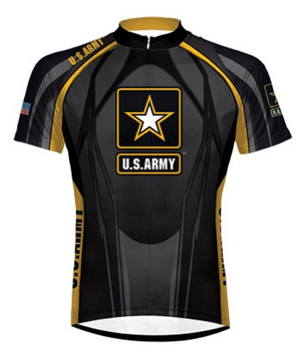 Primal Wear Army Midnight Eleven Cycling jersey Men's Short Sleeve XL