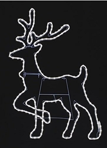 Outdoor Rope Light Reindeer in US - 2