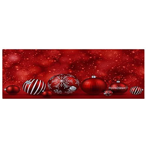 Vacally Merry Christmas Long Area Rugs Welcome Doormats Indoor Home Carpets Decor Bedroom Kitchen Living Room Hall Corridor...