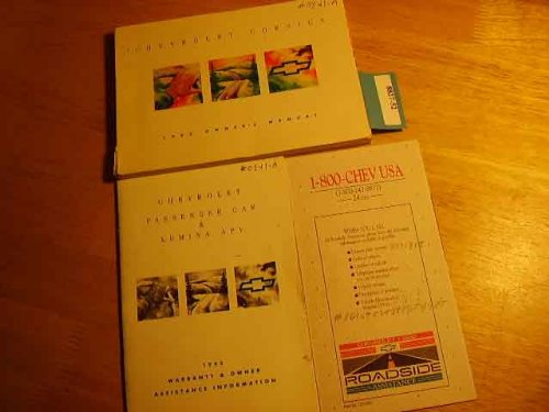 1993 Chevrolet Corsica Owners Manual