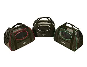 Gen7Pets Carry-Me Sport Pet Carrier, Large, Black/Raspberry Sorbet