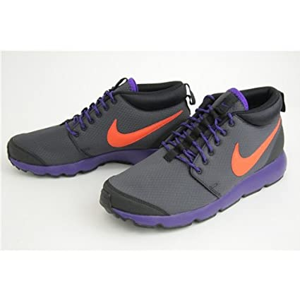 on sale f6bf5 10993 Image Unavailable. Image not available for. Colour  Nike Roshe Run Trail  Black Purple ...