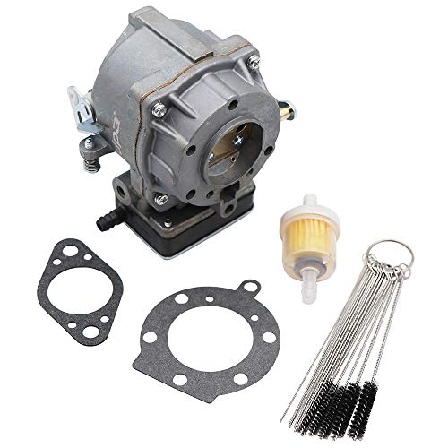 KIPA Carburetor for Brigg & Stratton 693480, Fits for 499306 495181 495026 491429 393297 Models Engines Mower, with Mounting Gasket & Carbon Dirt Jet Cleaner Tool ()