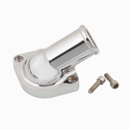 Mr. Gasket 2672 Chrome Water Neck Outlet for GM/Chevrolet LS Engine ()