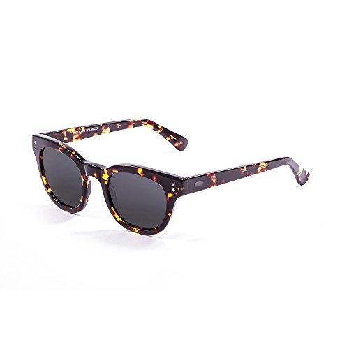 Ocean Sunglasses Santa Cruz Lunettes de soleil Brown/Revo Blue Lens Pq29a
