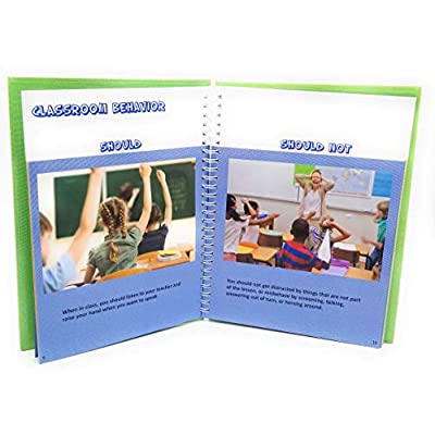 The Shoulds and Should Nots: Photo Cards to Help Kids Develop Social & Communication Skills; Autism; ADHD; Helps Kids Make Positive Choices; Hardcover and Laminated: Toys & Games