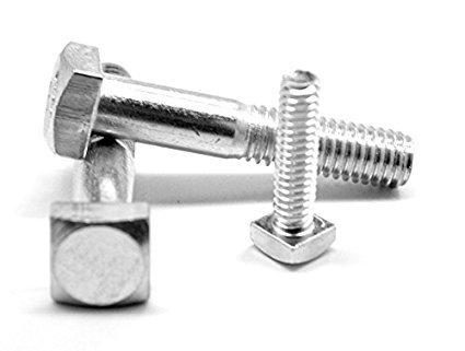 FT A307 Grade A HDG Hot Dip Galvanized Square Head Bolt 3//4-10x1 3//4 inch Quantity: 200