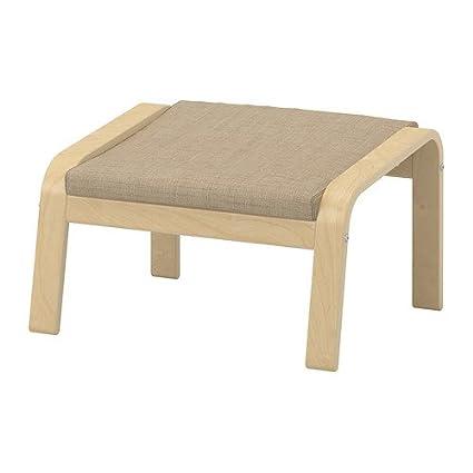 Ikea Ottoman Cushion, (foot Stool Not Included ) Isunda Beige  426.232917.102 (