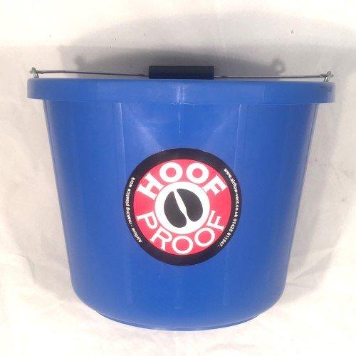 Hoof Proof Heavy Duty Multi Purpose Bucket Blue x Size: 15 Lt