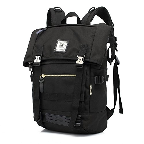 Z&N Portable al aire libre manera bolso multiusos del hombro morral del recorrido funcionamiento caminando alpinismo acampando escuela bolso del equipaje del día de fiesta 19Lblack19L black
