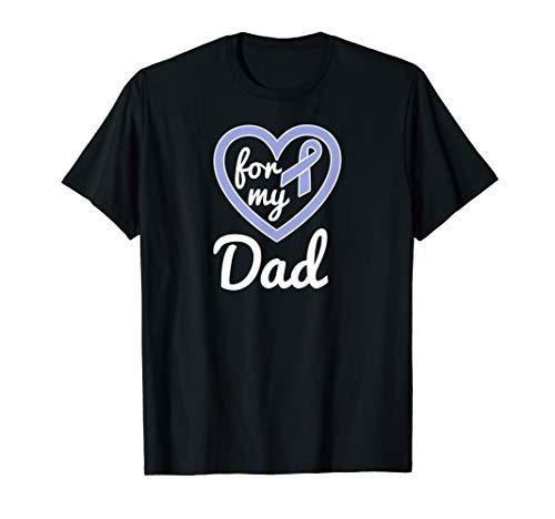 Esophageal Cancer Shirts Dad Awareness Ribbon Tshirt