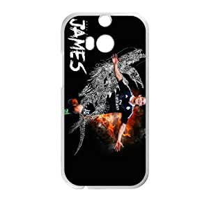Sports james rodriguez real madrid 2 HTC One M8 Cell Phone Case White Custom Made pp7gy_3357536