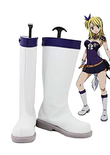 Bromeo Fairy Tail Lucy Cosplay Chaussure Bottes Boots