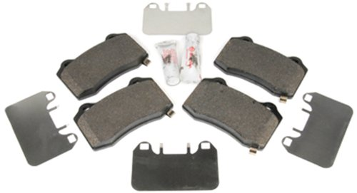 2020 Chevy Camaro Ss - ACDelco 171-0882 GM Original Equipment Rear Disc Brake Pad Kit with Brake Pads, Shims, and Lubricant