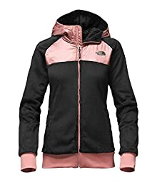 The North Face womens OSO HOODIE NF0A2TEBMPP_S - TNF BLACK/ROSE DAWN