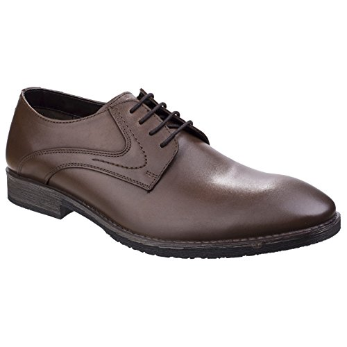 Hush Puppies Mens Carlos Luganda Oxford Shoes Brown dvIup87