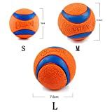 LXJLWJB 1 Pc Pet Dog Rubber Ball Toys for Dogs