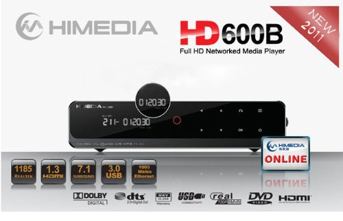 HIMEDIA HD600B MEDIA PLAYER TELECHARGER PILOTE