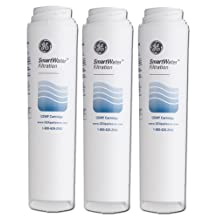 GE GSWF-3 SmartWater Refrigerator Water Filter, 3-Pack