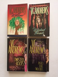 vc-andrews-set-of-4-willow-wicked-forest-twisted-roots-into-the-woods