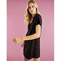 T-SHIRT DRESS SUEDE