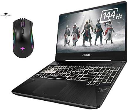 "2021 Newest Asus TUF Gaming Laptop 15.6"" 144Hz IPS Full HD, 6 cores Intel i7-9750H, 16GB RAM, 512GB SSD, GeForce GTX 1650, RGB Backlit Keyboard, WiFi5, Win10 +GM Gaming Mouse"