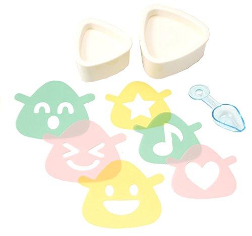 JapanBargain Japanese Bento Triangle Smile product image