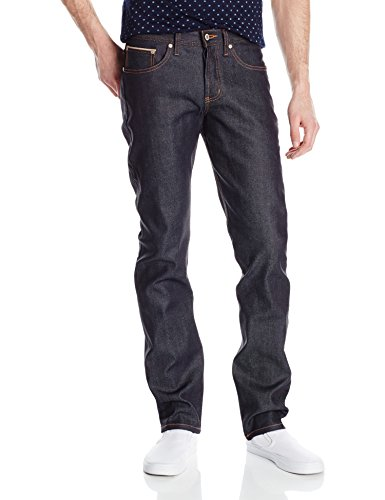 Naked & Famous Denim Men's Weirdguy Tapered Fit Jean In 11Oz Stretch Selvedge, OZ Stretch Selvedge, 31