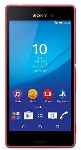 Sony Xperia M4 Aqua Smartphone (12,7 cm (5 Zoll) IPS-Display, 1,5-GHz-Octa-Core-Prozessor, 13 Megapixel-Kamera, 8 GB interner Speicher, Android 5.0) koralle