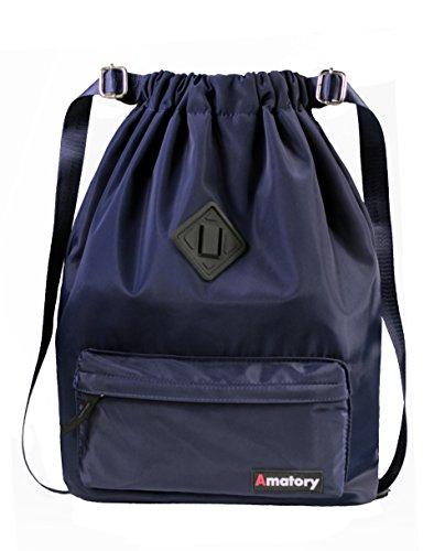a6ffeb3d4ac6 Drawstring Backpack String Bag Sports Waterproof Sackpack ...