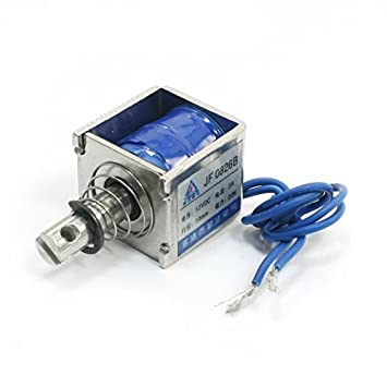 DC12V 2A Tipo 20N / 10mm Push Pull movimiento lineal del electroimán del solenoide
