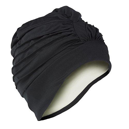 Turban bonnet pour femme-taille réglable blanc/noir/crème/vert/rose/lilas