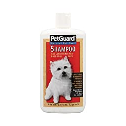 Pet Guard Shampoo and Conditioner for Dog, 12 Ounce -- 6 per case.