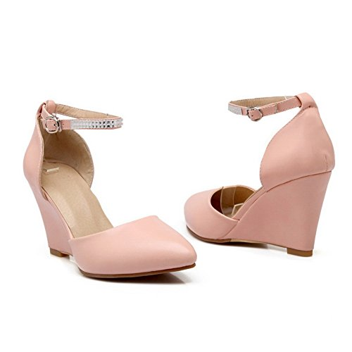 1TO9 Girls Engagement Empty Soft Material Sandals Pink K5WsLhhDOe