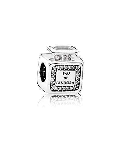 59cbdd509 Pandora 791889CZ Signatur Scent Charm Fragnace Bottle - New 2016:  Amazon.co.uk: Jewellery
