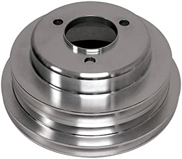 LONG 3 GROOVE Compatible//Replacement for CHEVY BIG BLOCK ALUMINUM CRANK PULLEY
