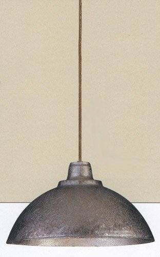 Metalics 1 Light Inverted Pendant Finish: Old Bronze - Hudson Valley Metallics