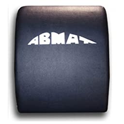 Abmat abdominal exerciser and core trainer with DVD