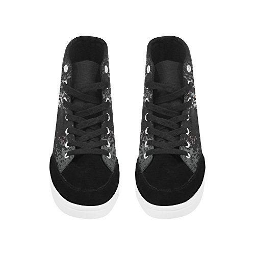 Interestprint Cat High Top Zapatos Para Mujeres