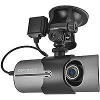 DP Audio Video DVR140 Dual DashCam with GPS