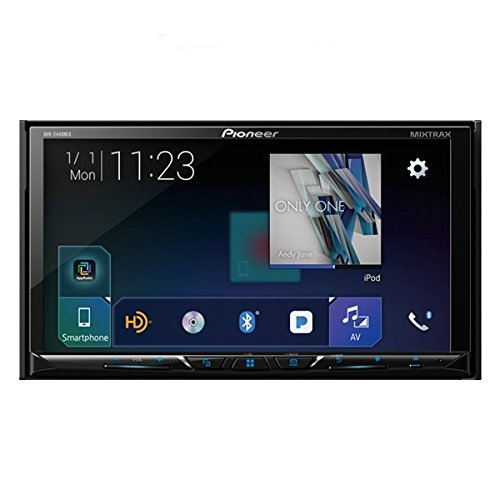 - Pioneer AVH-2440NEX Car Stereo Double Din Radio with Apple CarPlay, Android Auto and Bluetooth