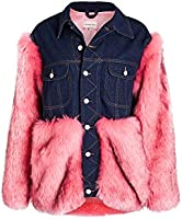 Natasha Zinko Women's Faux Fur & Denim Jacket