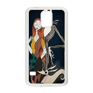 Samsung Galaxy S5 Phone Case White The Nightmare Before Christmas BFG094746
