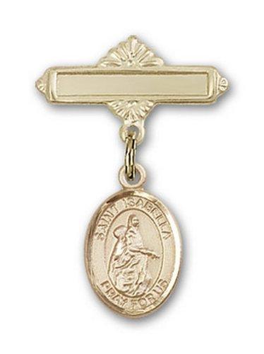 Icecarats Or Bijoux De Créateurs Rempli R. Isabella De Charme Portugal Broche De Badge 1 X 5/8